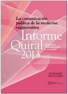 Informe quiral 2013 - portada
