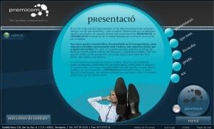 La primera web de Premicom